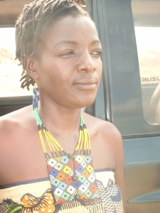 meet with Executive Director of Kolelo, Irene Sanga